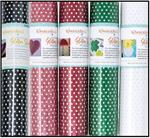 Kimberbell Applique Glitter Polka Dot Sheet - Available in a variety of colors