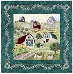 With a big quilt here, and a small quilt there Quilt Kit  - Includes Pre-cut & Pre-fused Appliqués by McKenna Ryan
