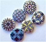 Compass Star 6 Magnet Set by Judy Niemeyer