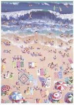 Sunshine and Shadow Beach Quiltscapes Notecard Set