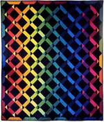 Rainbow Twist Quilt Kit