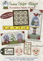 SGV107 Snowglobe Village Accessory Fabric Packet