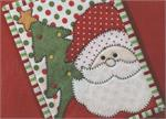 Here Comes Santa Mug Rug Kit - Pre-cut & pre-fused Applique!