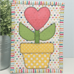 Flower Pot Mug Rug Kit - Pre-cut & Pre-fused!