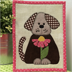 Daisy Doggie Mug Rug Kit