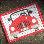 Dreamer Mug Rug Kit - Pre-cut & pre-fused Applique!