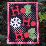 Ho Ho Ho! Mug Rug Kit - Pre-cut & pre-fused Applique!