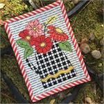 Dutch Flowers Mug Rug Kit