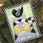 Kitty and Chip Mug Rug Kit