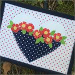Flower Love Mug Rug Kit