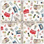 Kimberbell Make Yourself at Home 10 x 10 Fabric Square Pack