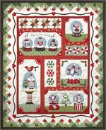 Snow Globe Village Quilt Kit