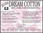 Quilter's Dream Cotton Batting, White Select - QUEEN size