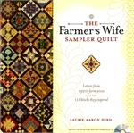The Farmer's Wife Sampler Quilt Book with CD-Rom