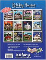 Holiday Houses - Complete Collection of 12 House Patterns