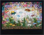 Aquarium Watercolor Quilt Kit