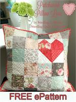 Quilted Poetry Pillow ePattern