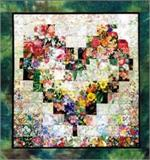 Heart In Bloom Watercolor Quilt Kit