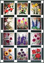 Rachel's Flower Garden Watercolor Quilt Kit