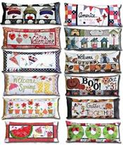Kimberbell Seasonal Bench Pillows *SINGLE* Pre-Cut Applique Kit