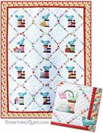 Spoolie Bird Quilt Kit - Includes Pre-cut & Pre-fused Appliqués