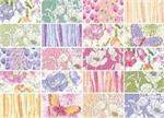Benartex Watercolor Garden Fabric Charm Pack 5 x 5