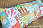 Kimberbell Bench Pillow Pre-cut & Pre-fused Appliques Kit + Pattern - Hoppy Easter