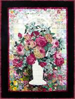 Wicker and Roses Watercolor Quilt Kit