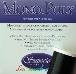Superior Mono-Poly Thread (Smoke)