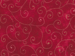 Moda Marble Swirl Fabric - Turkey Red