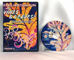 Free Motion Fun with Vines and Leaves Volume 2 DVD