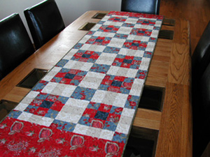 Prairie Table Runner Pattern