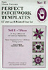 Marti Michell Perfect Patchwork Template Set E - 8 Pointed Star