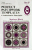 Marti Michell Perfect Patchwork Template Set F - Sunburst Shapes