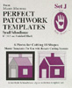 Marti Michell Perfect Patchwork Template Set J - SMALL 6 in. School House